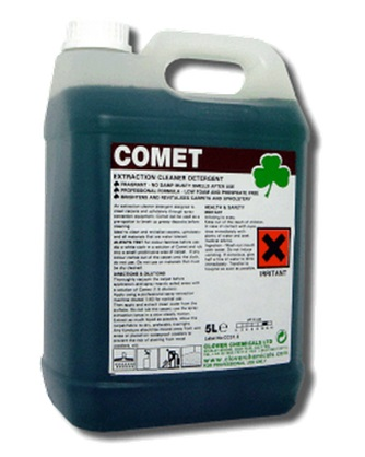 clover comet extraction carpet cleaner detergent. Black Bedroom Furniture Sets. Home Design Ideas