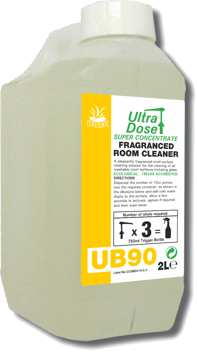 Clover Ub90 2l Fragranced Room Cleaner Concentrate
