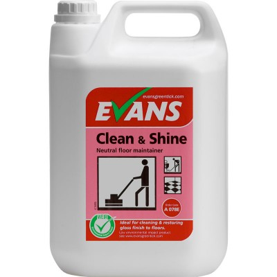 Evans Clean Amp Shine 5l