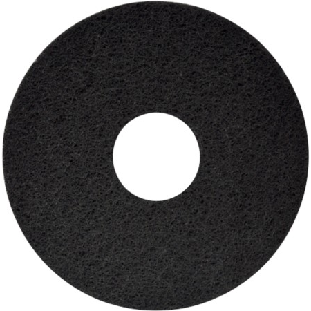 "17"" Black Cleaning Pad"
