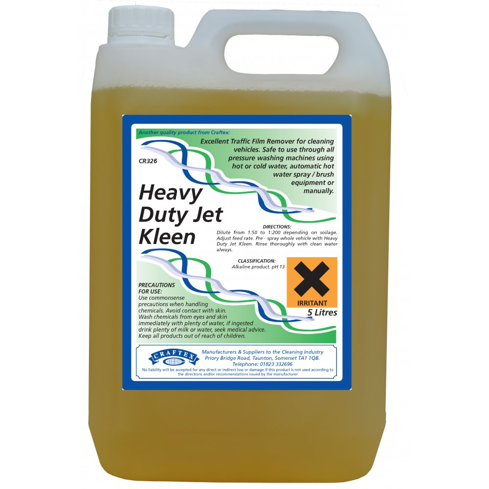 Craftex Heavy Duty Jet Kleen 5ltr Pressure Washer Chemical