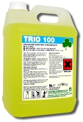 Clover Trio 100 Hard Surface Sanitiser/Cleaner