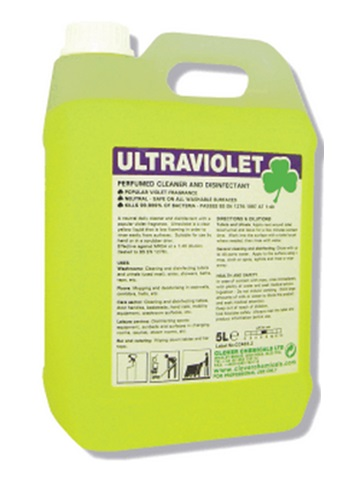 Clover Ultraviolet Perfumed Cleaner and Disinfectant
