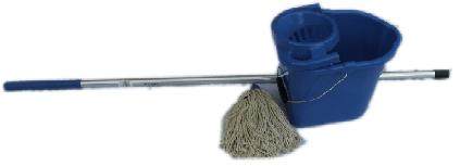Complete Mopping System Blue