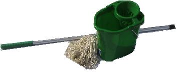 Complete Mopping System Green