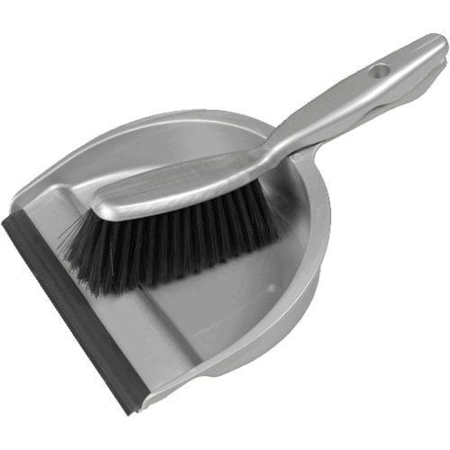 Grey Dustpan Amp Brush