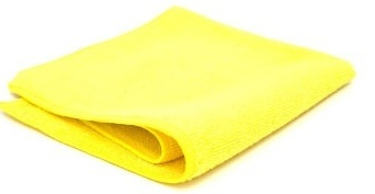 Microfibre Cloth Yellow