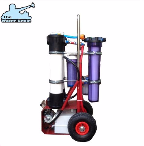 "New Water Genie Mobile RO system Twin 20"" HF4 Membranes"