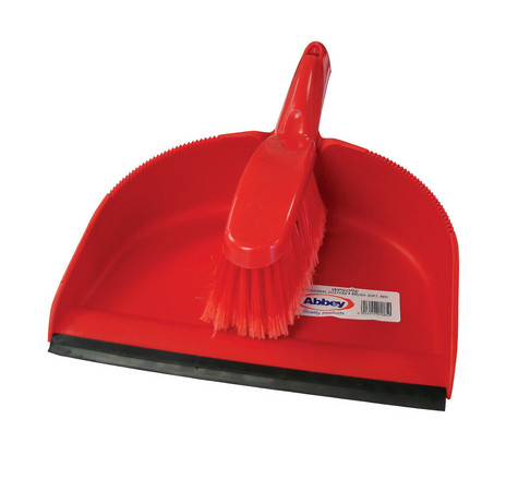 Red Dustpan Amp Brush