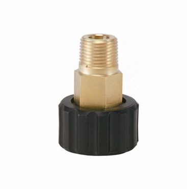 Threaded Connector - M22F - 3/8M