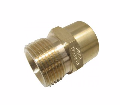 Threaded Connector - M22M - 1/4F