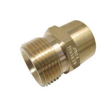 Threaded Connector - M22M - 3/8F