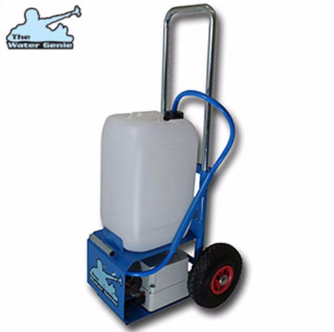 Water Genie Window Cleaning Trolley For Water Fed Pole