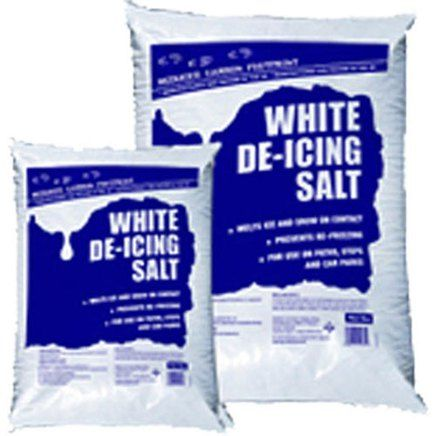 White De-Icing Marine Rock Salt 25KG